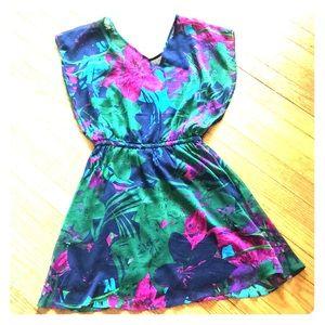 Floral Dress for the Spring/Summer.